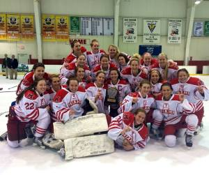 The Miami Women's hockey program has grown into CCWHA Champions in just a few short years.