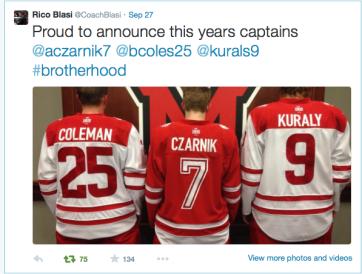 The captains.