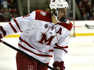 Miami's Sean Kuraly (photo by Cathy Lachmann).