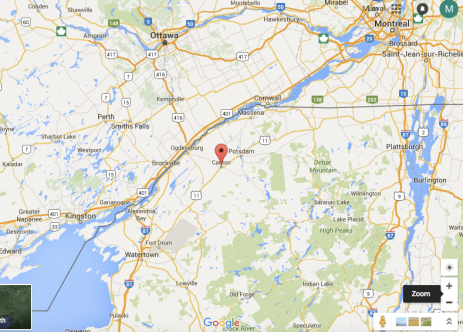 This weekend, Miami travels to someplace called Canton, N.Y. to face St. Lawrence (Google)