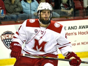 Defenseman Matt Joyaux is a Miami transfer (photo by Cathy Lachmann/BoB).