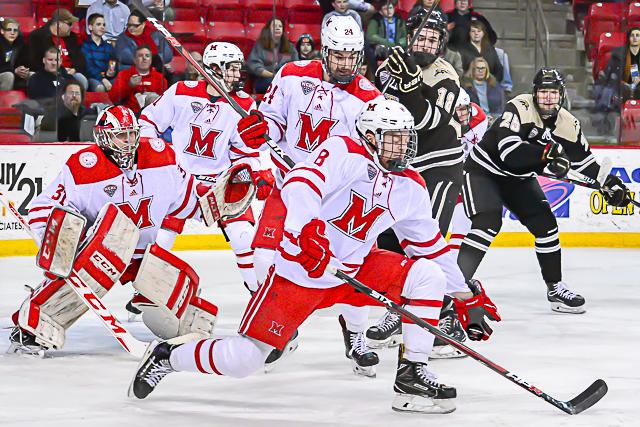 Image result for miami ohio hockey 2018